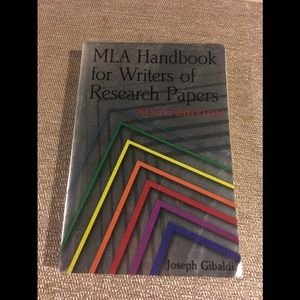 Other - MLA guide -6th edition